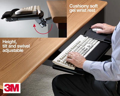3m Computer Keyboard Tray And Keyboard Drawer Products