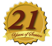 Serving our Customers for 21 Years