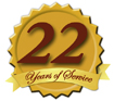 Serving our Customers for 22 Years