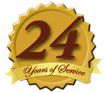 Serving our Customers for 24 Years