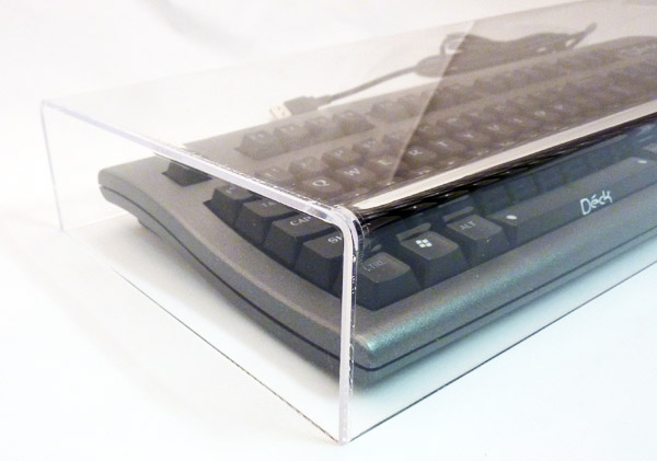 Clear Acrylic Keyboard Cover