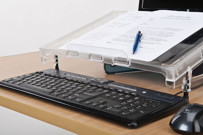 Side view Compact Microdesk