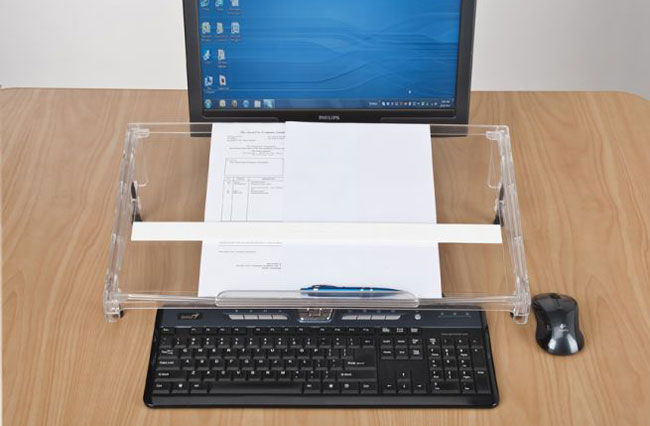 Side view Microdesk regular