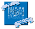 2011 Ergo Expo Award winner