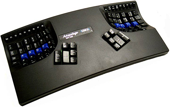 Kinesis Advantage Black Basic Keyboard