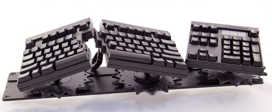 Comfort Programmable Ergonomic Computer Keyboard