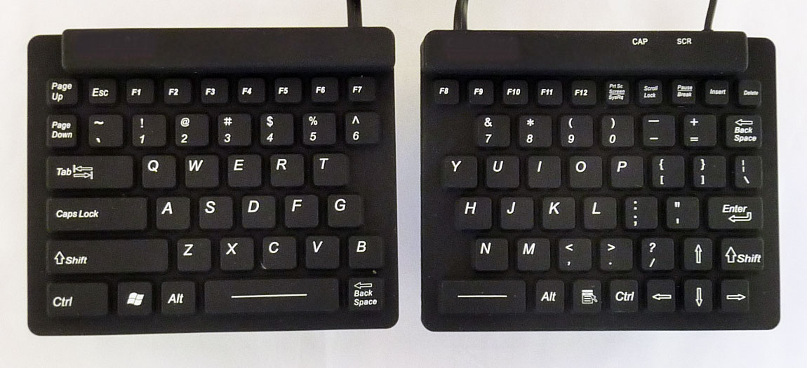 Split Magic Ergonomic Computer Keyboard