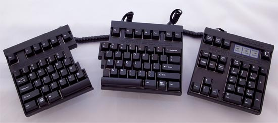 Comfort Computer Keyboard in Right Hand arrangement