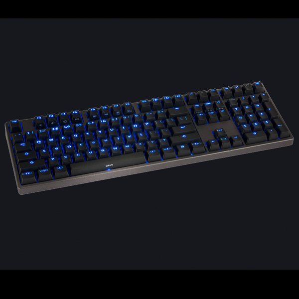 Hassium Pro Blue Backlit keyboard