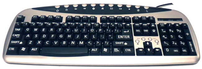 Large Print Full Size keyboard