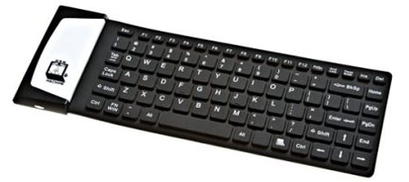 Water resistant bluetooth keyboard