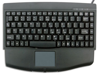 Mini Keyboard with touchpad