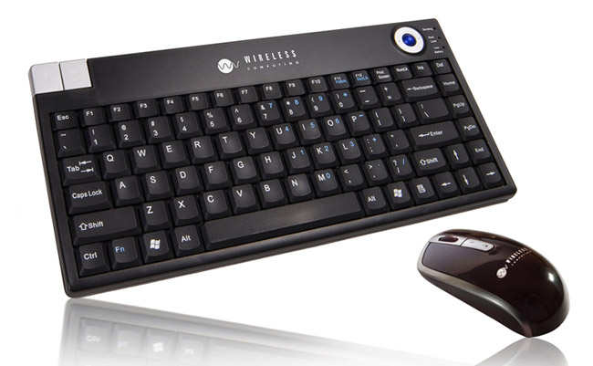 AES Wireless Trackball Keyboard and Mouse Combo