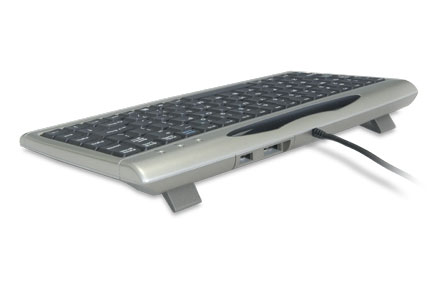 Mini Compact Keyboard with USB ports