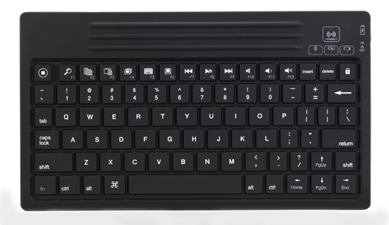 Super Mini Water Resistant Multimedia Bluetooth Keyboard