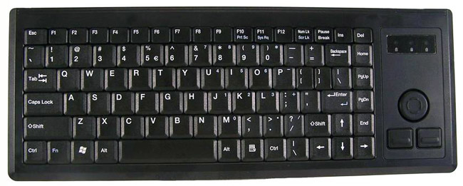Cherry Washable Keyboard with Pointing Device
