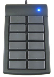 12 Key Programmable keypad