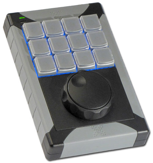12 Key Programmable Keypad with Jog & Shuttle