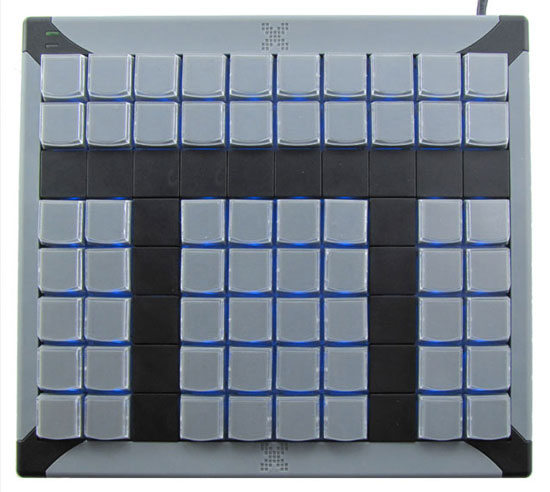 60 key programmable keyboard
