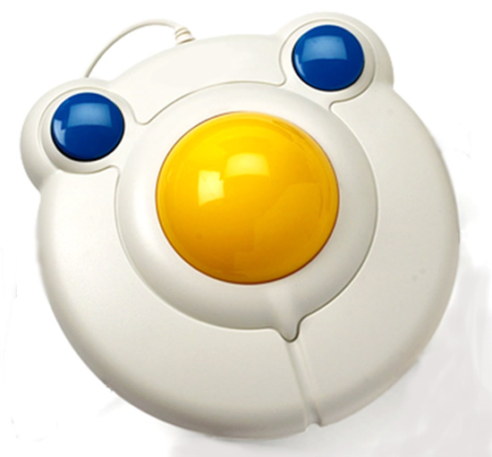 BIG track trackball mouse