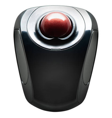Top view of Wireless Trackball Mouse