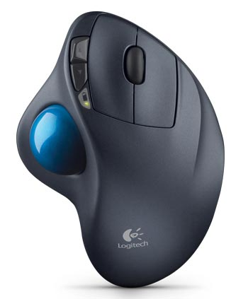 Logitech Wireless Laser Trackball Mouse