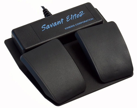 Savant Elite2 Dual Foot Switch from Fentek