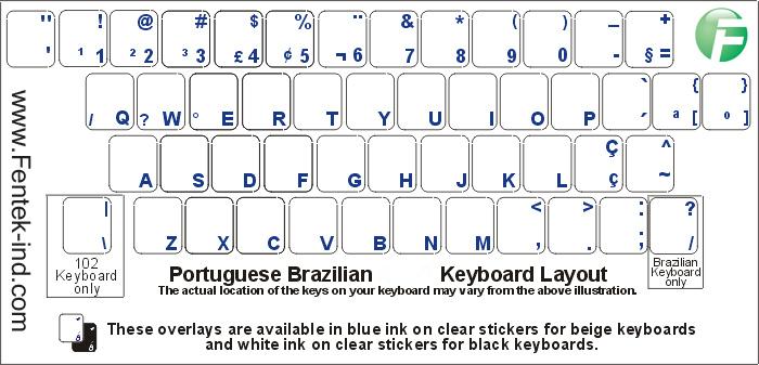 db28577b49b Portuguese Keyboard and Portuguese Keyboard Labels