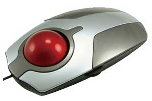 MircroTrac Miniature Trackball Black Mouse