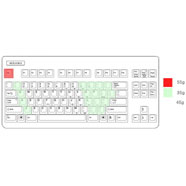 Realforce 87U key weighting