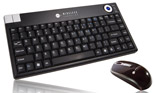 Mini Wireless Trackball keyboard and Remote