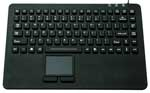 Water Resistant Mini Keyboard with Touchpad