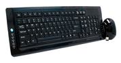 Slim Wireless Multimedia Keyboard Mouse Set