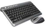 30' RF Wireless Mini Keyboard w/mouse