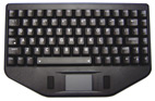 Water Resistant Backlit Compact Keyboard with Touchpad
