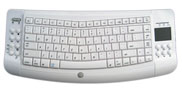 100' RF Wireless Keyboard with Trackball