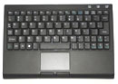 Bluetooth wireless mini Keyboard with Touchpad and scroll bar