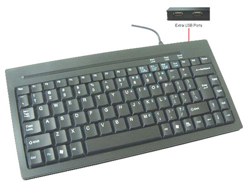 Thin Mini Computer Keyboard