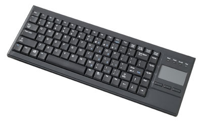 Ultra Slim Keyboard with Built-in Touchpad