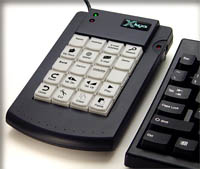 20 Key User Relegendable Programmable Keypad