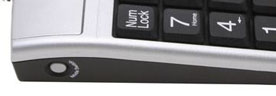Side view of Optical Keypad Mouse